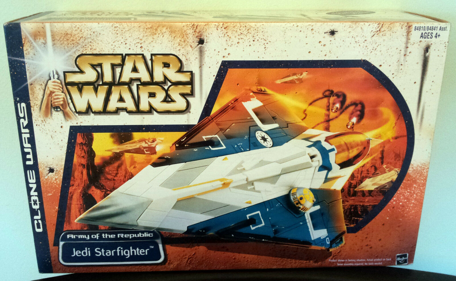 STAR WARS JEDI STARFIGHTER ARMY OF THE REPUBLIC CLONE WARS  ULTRA RARE  NEW