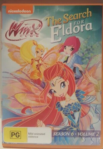 1 of 1 - Winx Club - The Search For Eldora : Season 6 : Vol 2 (DVD, 2015)