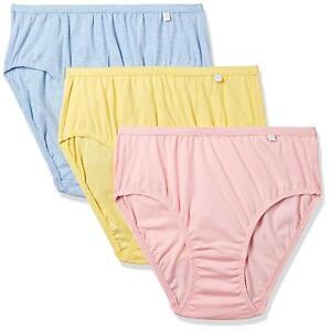 6892069f208 Jockey Women s Solid Bikini 100% Cotton Light Color Hipster Panties ...