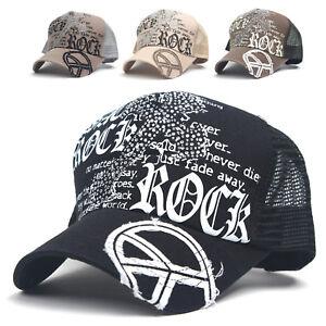 5be33e51 Details about CROSS shaped stud rhinestone embellishment Mesh Cap Baseball  Cap Trucker Hat