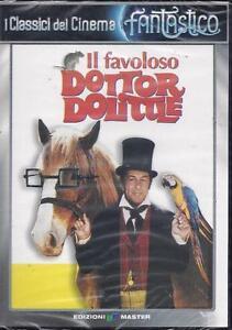 Dvd-IL-FAVOLOSO-DOTTOR-DOLITTLE-con-Rex-Harrison-nuovo-1967