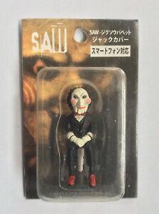 Rare-Japanese-SAW-movie-PHONE-JACK-COVER-FIGURE-Jigsaw-horror-movie-Japan-iphone