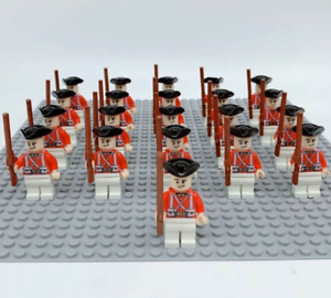 21x Army Soldiers Imperial Guards LEGO Compatible Pirates Mini Figures