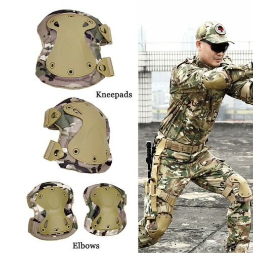 Tactical Knee And Elbow Pad Military Knee Protector Safety Gear Kneecap Outdoor