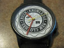 COLLECTIBLE NEW CLOTHES TRUTH KNOWLEDGE WOMEN'S WATCH PARTS OR REPAIR