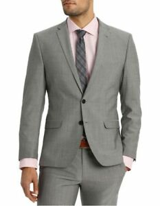 NEW-Ben-Sherman-Suit-Jacket-Grey