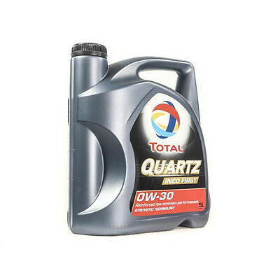 TOTAL Quartz Ineo First 0w30 Fully Synthetic Engine Oil 5 Litre 5l PSA PEUGEOT