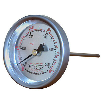 Pizza-Bread Oven Probe Thermometer 500 C