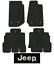 2014-2018-Jeep-Wrangler-Floor-Mats-4pc-Cutpile-Fits-Unlimited miniature 1