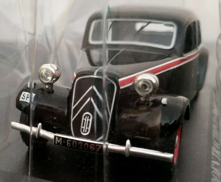 1 43 citroen traction 11 taxi madrid 1955 car collection scale