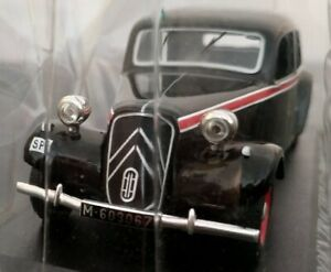 1-43-CITROEN-TRACTION-11-TAXI-MADRID-1955-COCHE-DE-COLECCION-A-ESCALA