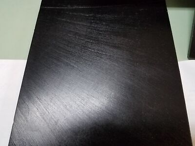 """3/"""" DIA X 24/"""" LONG URETHANE POLYURETHANE 50 A BLACK ROD P//N 11637"""