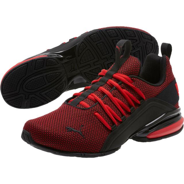 PUMA Men's Axelion Mesh Sneaker 9 US
