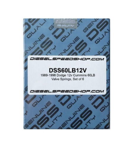 60lb Heavy Duty Valve springs 1989-1998 FITS Dodge Cummins® 12V 60# SET OF 6