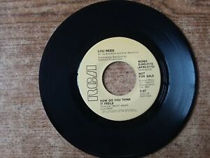 Promo-1973-Mint-Exc-Lou-Reed-How-Do-You-Think-It-Feels-0172-45