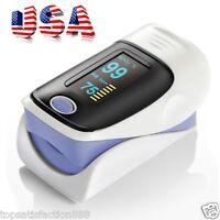 Usa Finger Pulse Oximeter Blood Oxygen Tester Oled Spo2 Monitor Pr Oximeter