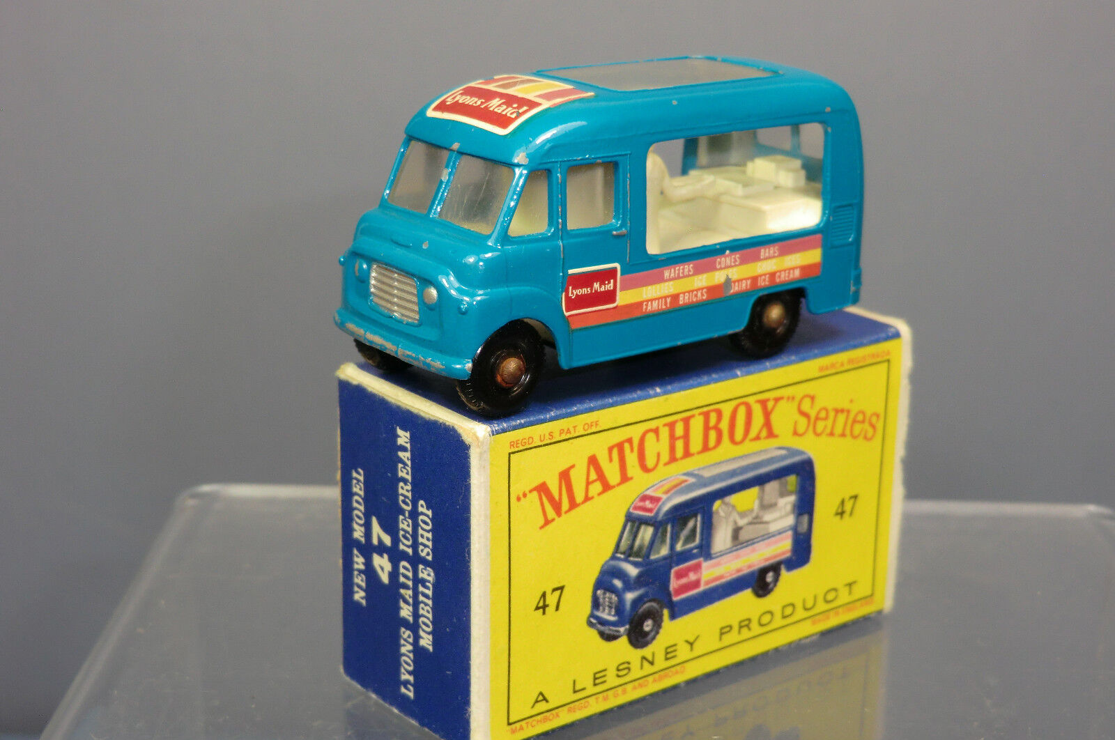 Matchbox lesney modell no.47b  durch  eis van mib
