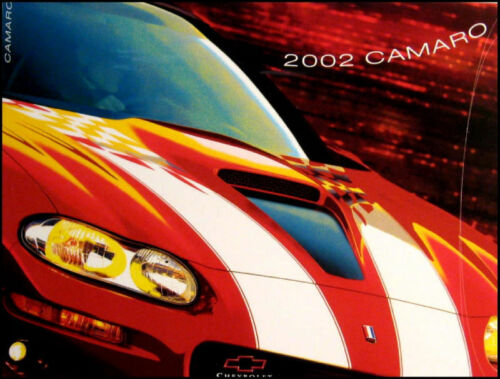2002 Chevy Camaro Canada Brochure Coupe Z28 SS GM