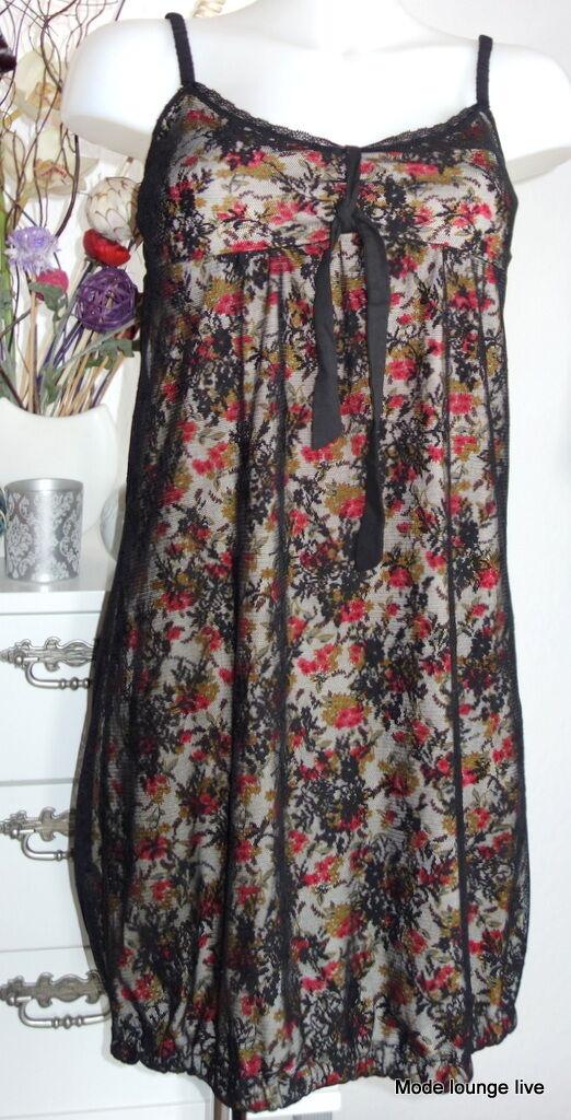 Vive Maria Strap Dress Dress 34 XS Nizza Summer Dress Lace Flowers 28988