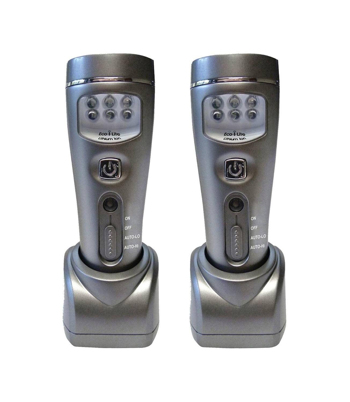 Capstone 4-in-1 Eco-I-Lite, Rechargeable LED Emergency Flashlight, Night Light,