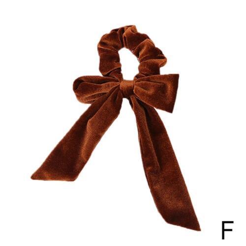 Frauen Samt Haargummis Pferdeschwanz Inhaber HairBand Bun Tie Elastic