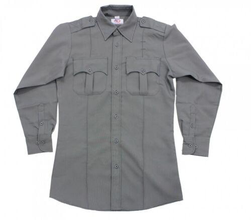 First Class 100/% Polyester Long Sleeve Zippered Uniform Shirts