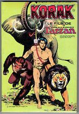KORAK LE FILS DE TARZAN – Russ Manning – Sagédition 1978 – NEUF