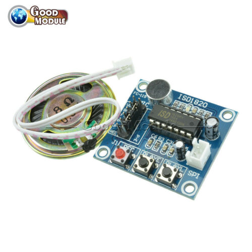 Loudspeaker+ISD1820 Sound Voice Recording Playback Module With Mic Sound Audio