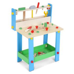Holz Spielzeug Werkzeug Werkbank für Kinder Kinderwerkbank ...