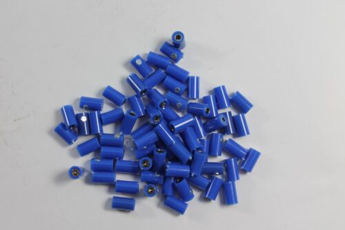 Modellbahn Muffen 2,6mm; blau;  neu; 60 Stück; 0,249€ Stk