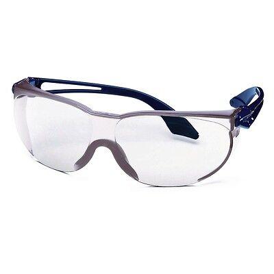 Uvex Schutzbrille skylite blau klar Arbeitsschutzbrille Radbrille Laborbrille