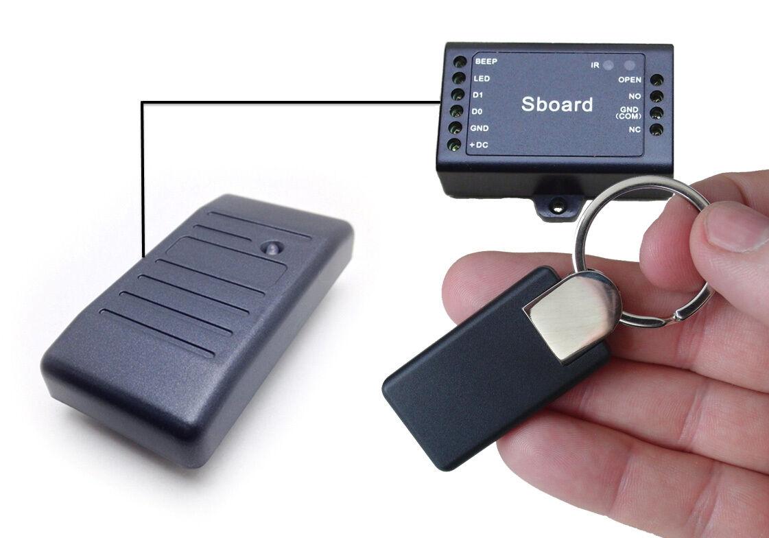 RFID-Zutrittskontrolle, sabotagesicher, EM 125khz, IP65, Sboard Version 2019 | Sonderangebot  | Zuverlässige Leistung  | Schönes Design  | Nicht so teuer