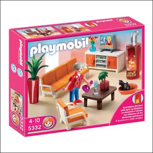 Playmobil Moderne Coiffeuse et chaise New dollshouse Furniture