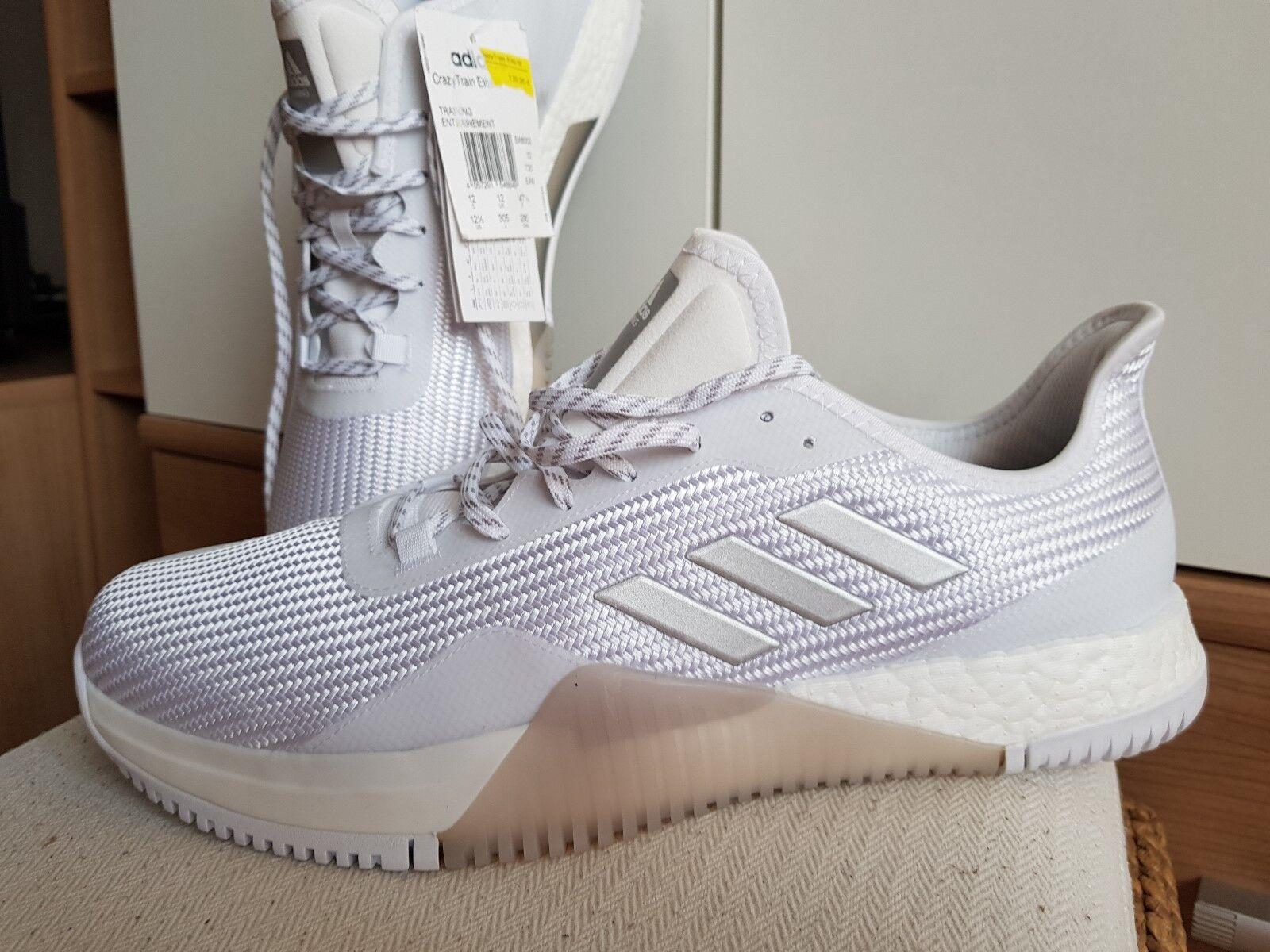 Adidas Herrenschuhe,Turnschuhe,NEU, Boost Crazy Train Elite Herrenschuhe,Turnschuhe,NEU, Adidas mit Etikett, Gr.47,5 3f7ba3