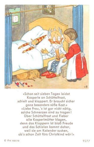 "Santo figurita imagen gebetbild /""ida bohatta/"" Holy card Ars sacra /""h312/"""