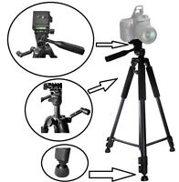 Super Tripod 60 With Case & Bubble Level For Panasonic Hdc-sdt750 3d Camcorder