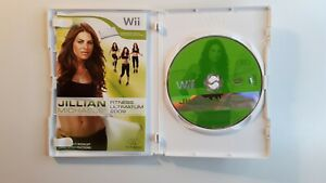 Jillian Michaels Fitness Ultimatum 2009 (Nintendo Wii, 2008) COMPLETE