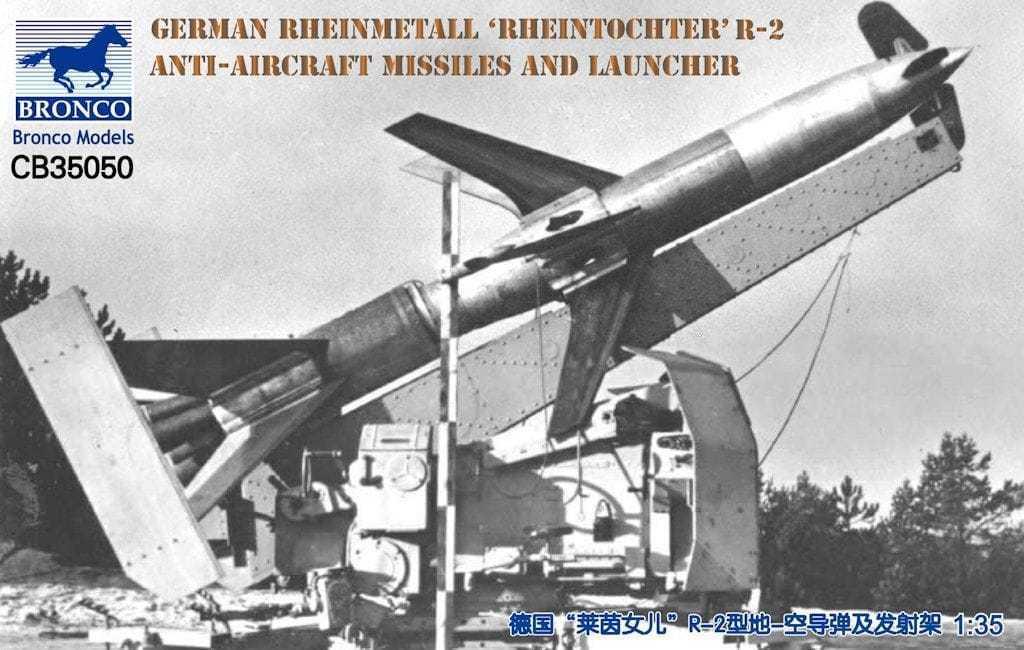 Bronco BNC35050 1 35 German Rheinmetall 'Rheintochter' R-2 Anti-Aircraft Missile