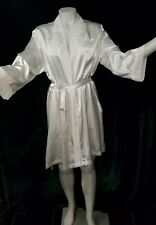 e639a549ed item 3 VINTAGE women s Small Medium Robe bridal CINEMA ETOILE white satin  SHEER -VINTAGE women s Small Medium Robe bridal CINEMA ETOILE white satin  SHEER