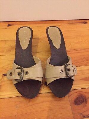 Damenschuhe - Pantoletten - Größe 40