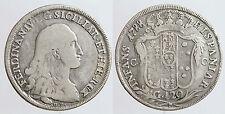 pci0004) Napoli Ferdinando IV piastra 1788 sigle D.P.