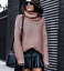 Turtle-Neck-Baggy-Tops-Chunky-Knitted-Oversized-Jumper-Sweater-Women-039-s-Winter thumbnail 16