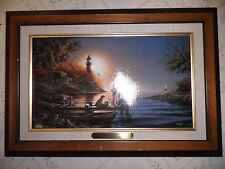 Terry Redlin From Sea to Shining Sea Linen Design Print 13 x 18-1/2""