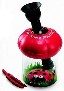 Super-Bug-Viewer-Insekten-Beobachter-Dose-rot-Schauglas-Geschenkidee-Kinder