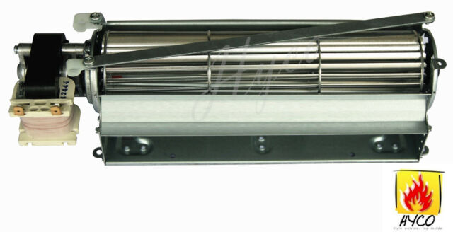 Squirrel Cross-Flow Universal Blower Fan for Stove or Fireplace