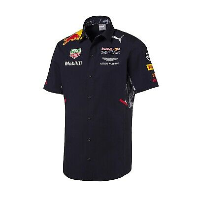 Camicia Teamshirt Red Bull Racing Team F1 Puma Raceshirt Formula One1 Nuovo!- Per Classificare Prima Tra Prodotti Simili