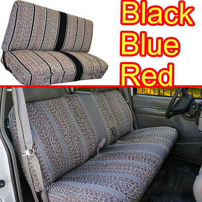 Saddle Blanket Seat Cover Universal Work with Chevrolet Dodge Ford SELECT Style