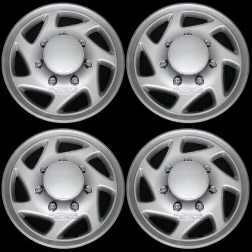 "4 New for E150 E250 Econoline Van 16/"" Full Wheel Covers Hub Caps Rim Simulators"
