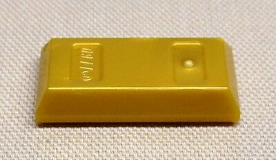 2x Minifig utensil Gold ingot Bar ingot golden orange 99563 NEW Lego