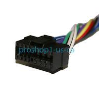 Sony Cdx-gt260mp / Cdx-gt40u / Cdx-gt565up Wire Harness Wiring Harness 16 Pin